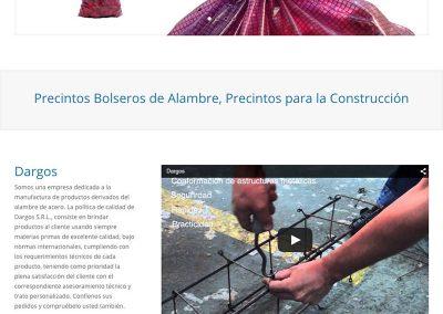 Sitio Web Dargos
