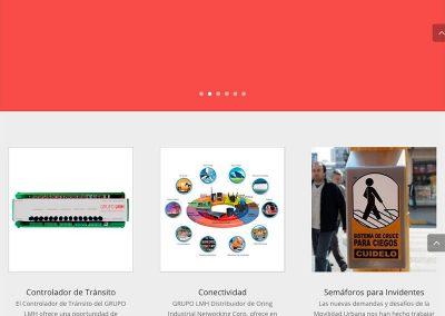 Sitio Web Grupo LMH