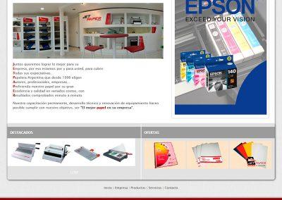 Sitio Web Jetpaper