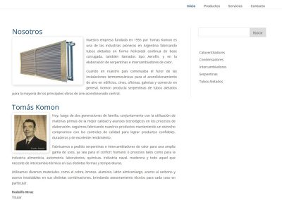 Sitio Web Komon
