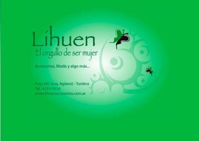 Landingpage Lihuen Accesorios